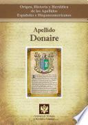 Libro de Apellido Donaire