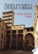 Libro de Teatro En Verso Y Otras Obras