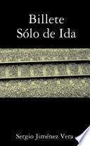 Libro de Billete Sólo De Ida