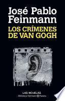 Libro de Los Crímenes De Van Gogh