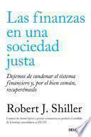 Libro de Las Finanzas En Una Sociedad Justa