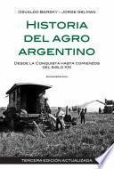 Libro de Historia Del Agro Argentino