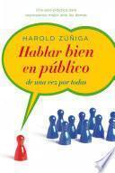 Libro de Hablar Bien En Público