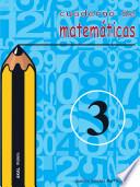 Libro de Cuaderno De Matemáticas No 3. Primaria
