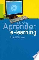 Libro de Aprender E Learning