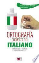 Libro de Ortografía Correcta Del Italiano