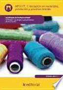 Libro de Iniciación En Materiales, Productos Y Procesos Textiles   Mf0177_1