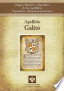 Libro de Apellido Galitó