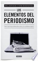 Libro de Los Elementos Del Periodismo