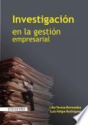 Libro de Investigación En La Gestión Empresarial
