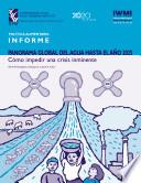 Libro de Panorama Global Del Agua Hasta El Año 2025