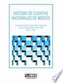 Libro de Sistema De Cuentas Nacionales De México. Indicadores De La Actividad Industrial. Serie Empalmada 1980 1996. Base 1993