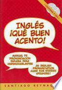 Libro de Ingles Que Buen Acento