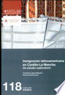 Libro de Inmigración Latinoamericana En Castilla La Mancha