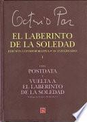 Libro de El Laberinto De La Soledad
