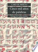 Libro de Cinco Mil Años De Palabras