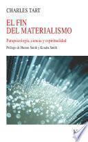 Libro de El Fin Del Materialismo