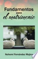 Libro de Fundamentos Para El Matrimonio