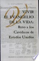 Libro de Living The Gospel Of Life: A Challenge To American Catholics