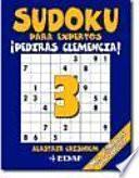 Libro de Sudoku Para Expertos