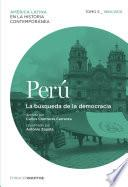 Libro de Perú. La Búsqueda De La Democracia. Tomo 5 (1960 2010)
