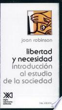 Libro de Libertad Y Necesidad