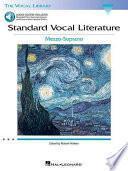 Libro de Standard Vocal Literature