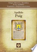 Libro de Apellido Puig