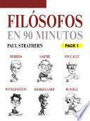 Libro de Filósofos En 90 Minutos (pack 1)