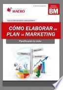 Libro de Cómo Elaborar Un Plan De Marketing.