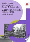 Libro de El Aborto En El Derecho Transnacional