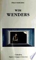 Libro de Wim Wenders