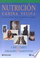 Libro de Nutrición Canina Y Felina