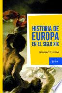 Libro de Historia De Europa En El Siglo Xix