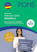 Libro de Pons Referate Halten Spanisch