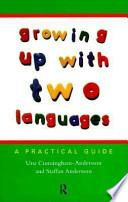 Libro de Growing Up With Two Languages