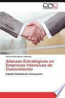 Libro de Alianzas Estratégicas En Empresas Intensivas De Conocimiento