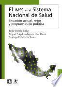 Libro de El Imss En El Sistema Nacional De Salud