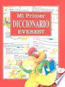 Libro de Mi Primer Diccionario Everest