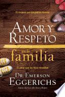 Libro de Amor Y Respeto En La Familia