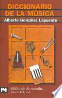 Libro de Diccionario De La Música