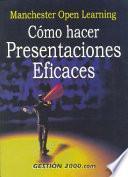Libro de Cómo Hacer Presentaciones Eficaces