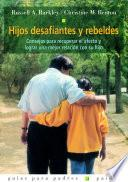 Libro de Hijos Desafiantes Y Rebeldes