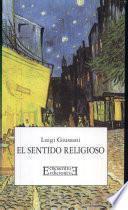 Libro de El Sentido Religioso
