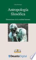 Libro de Antropología Filosófica