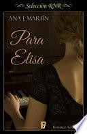 Libro de Para Elisa (selección Rnr)