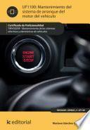 Libro de Mantenimiento Del Sistema De Arranque Del Motor Del Vehículo. Tmvg0209