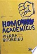 Libro de Homo Academicus