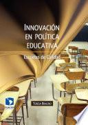 Libro de Innovación En Política Educativa