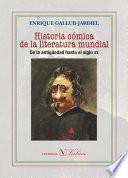 Libro de Historia Cómica De La Literatura Mundial